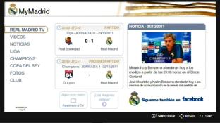 Realmadrid app screenshot