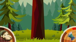 Lumberjack: the mighty bear screenshot1
