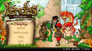 Forest Defenders (Lendas) screenshot