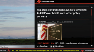 AP News Ticker screenshot1